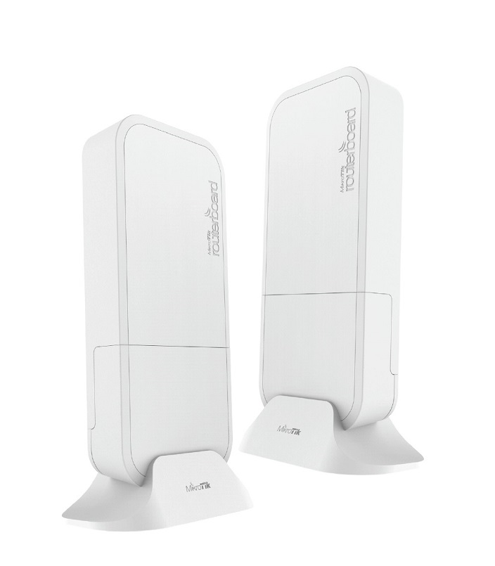 Mikrotik Wireless Wire RBwAPG-60ad kit, 716MHz, 256MB, 1xGigabit, L3, 60GHz (kompletní spoj)