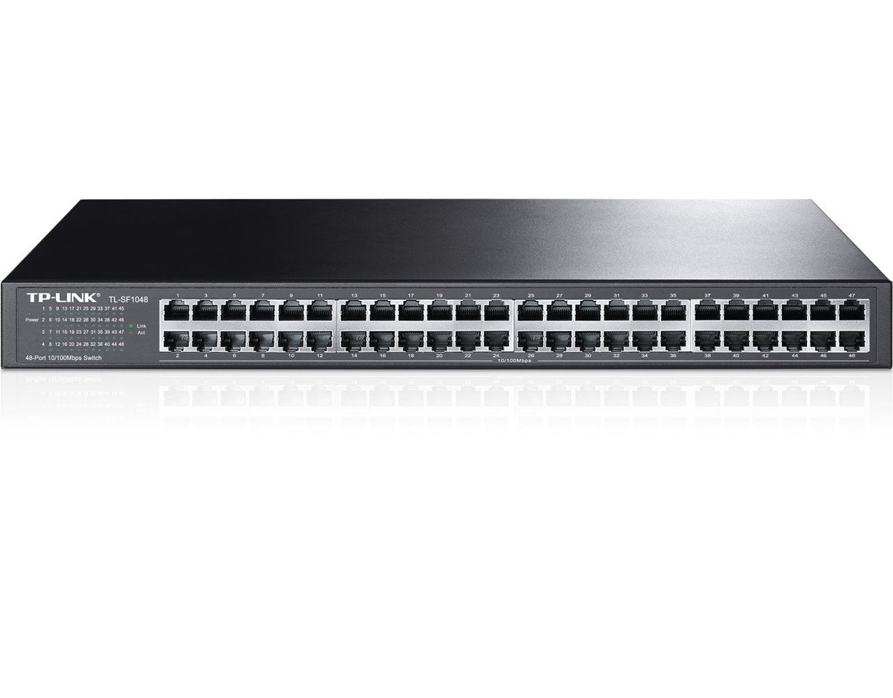 "Switch TP-Link TL-SF1048 switch 48xTP 10/100Mbps 19""rackmount"
